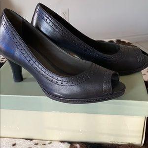 LIKE NEW Black Nurture Leather Heels